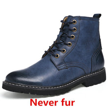 Load image into Gallery viewer, 2018 Winter Men Genuine Leather Warm Mid-Calf Boots(BUY 2 TO GET 10% OFF)