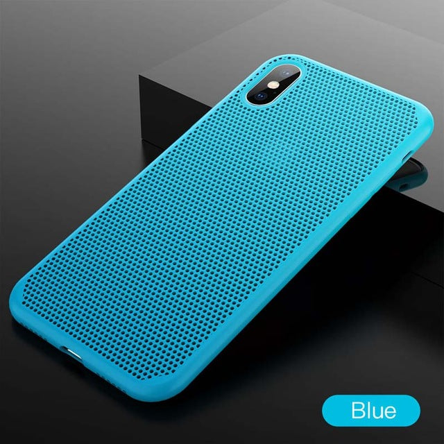 Breathing Mesh Phone Case For iPhone X/XS/8/7 Plus(BUY 2 TO GET 10% OFF)