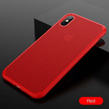 Load image into Gallery viewer, Breathing Mesh Phone Case For iPhone X/XS/8/7 Plus(BUY 2 TO GET 10% OFF)