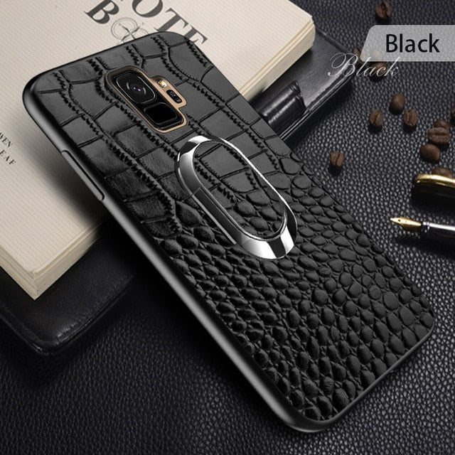 Luxury Magnetic Ring Holder Case For Samsung S9 Plus/S7/Note 8(BUY 2 TO GET 10% OFF)