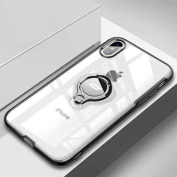 Luxury Magnetic Ring Stand Case For iPhone X/XS Max/7/8 Plus (BUY 2 TO GET 10% OFF)