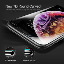 Load image into Gallery viewer, 7D Round Curved 9H Hardness Tempered Glass for iPhoneX/Xs Max(BUY 2 TO GET 10% OFF)