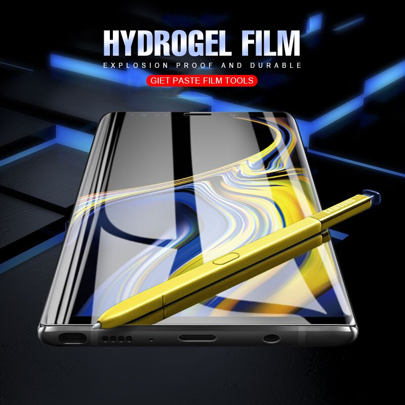 Full Cover Hydrogel Film For Samsung Note 9/8/S7 Edge/S9 Plus(BUY 2 TO GET 10% OFF)
