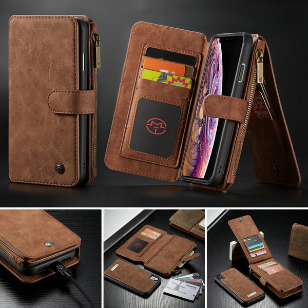 2 in 1 Magnetic Detachable Wallet Case For iPhone Xs/Xs Max/Xr(BUY 2 TO GET 10% OFF)