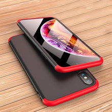 Load image into Gallery viewer, 3 IN 1 Anti-shock Full Protection Case for iPhone X/XR/XS/XS Max(BUY 2 TO GET 10% OFF)