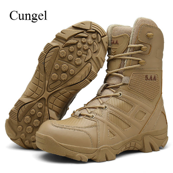 e9718b8b354 New Men Outdoor Army Combat boots(BUY 2PCS TO GET 10% OFF)
