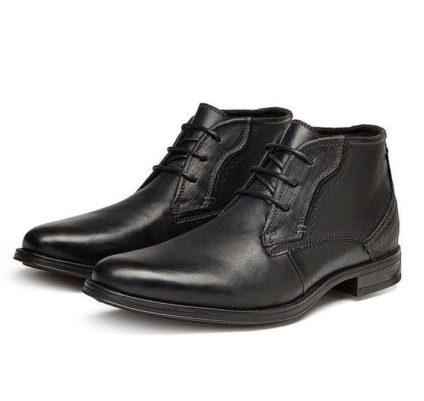 Classic Men's High Top Cowhide Motorcyle Boots(BUY 2 TO GET 10% OFF)