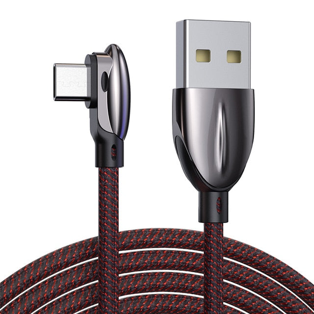 90 Degree Type-C Fast Charging Data Cable for Samsung(BUY 2PCS TO GET 10% OFF)