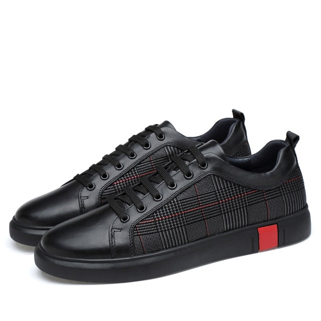 New Lace-up Genuine Leather Men Casual Shoes(BUY 2 TO GET 10% OFF)