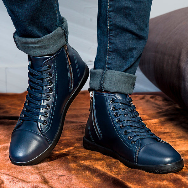 2019 New Fashion Genuine Leather Men Boots(BUY 2 TO GET 10% OFF)