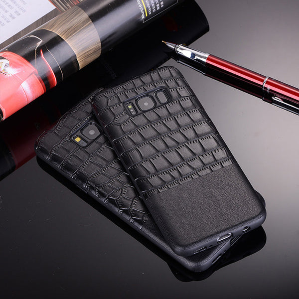 Luxury Crocodile Leather Case For Samsung S8/S9 Plus/Note 8(BUY 2PCS TO GET  10% OFF)