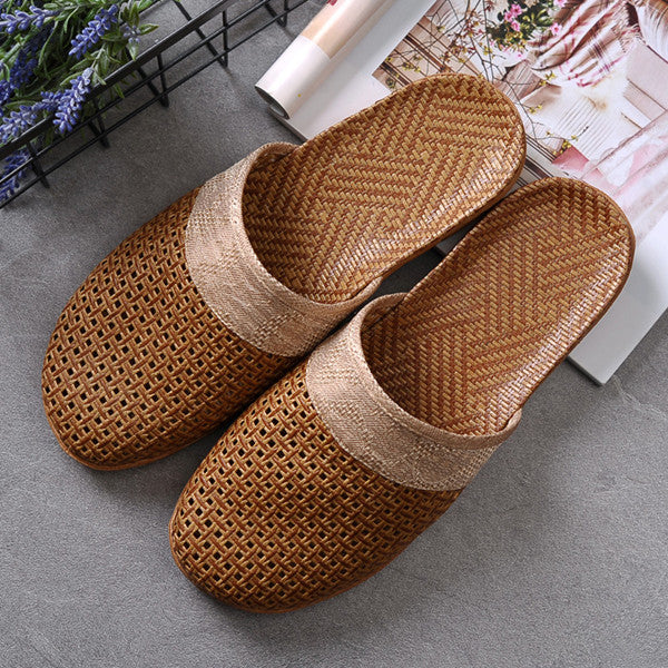 Summer Flax Weaving Breathable Non-slip Male Beach Sandals(BUY 2 TO GET 10% OFF)