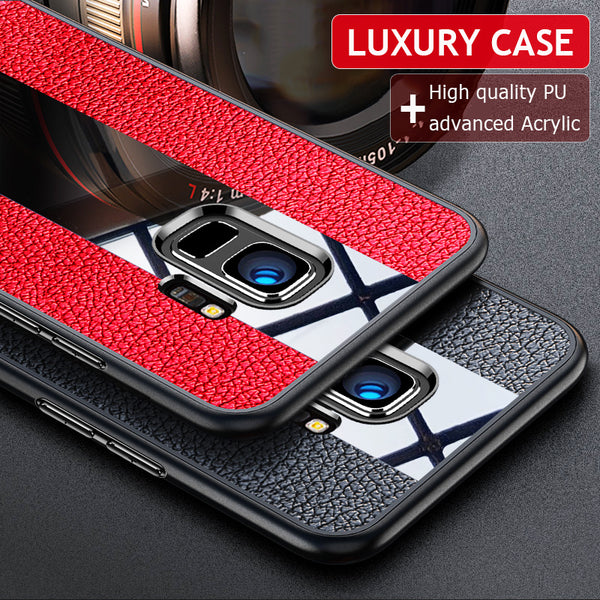 Luxury Soft Silicone Leather Case For Samsung Note 8/S8/S9(BUY 2 TO GET 10% OFF)