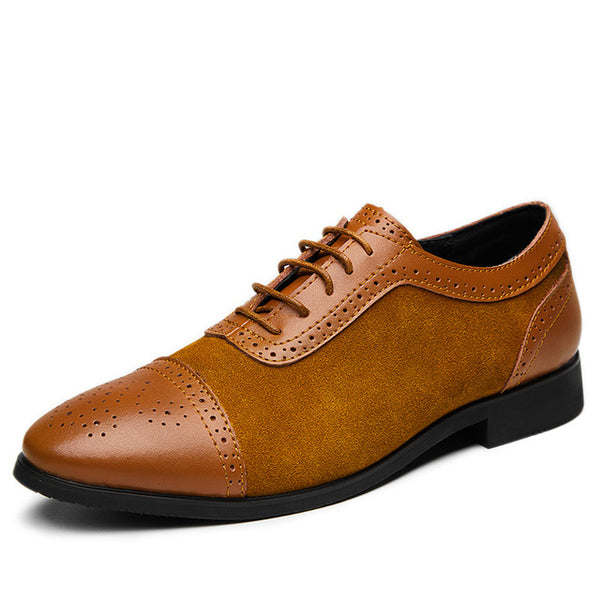 Big Size Men Formal Leather Brogue Dress Shoes(BUY 2PCS TO GET 10% OFF)