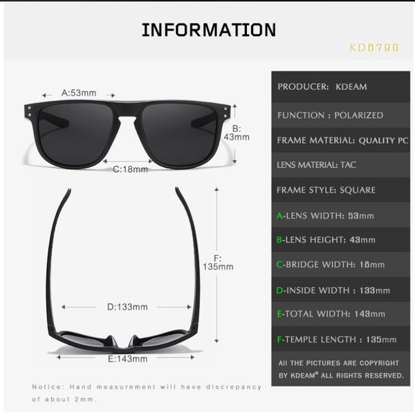 Sport Style Men Ultralight Polarized Sunglasses(BUY 2 TO GET 10% OFF)