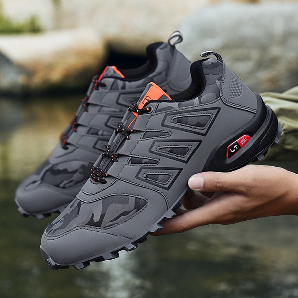 Hot Sale Man Hiking Shoes  Outdoor Brand Non-slip Sports Shoes