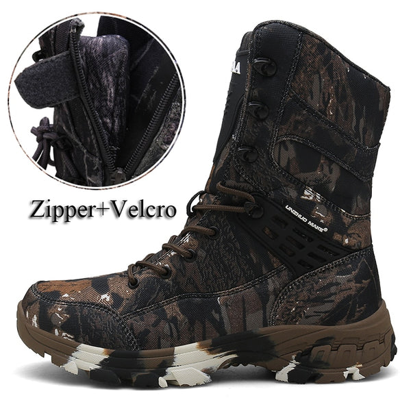 Outdoor Camouflage Men Tactical Combat Boot(BUY 2 TO GET 10% OFF)