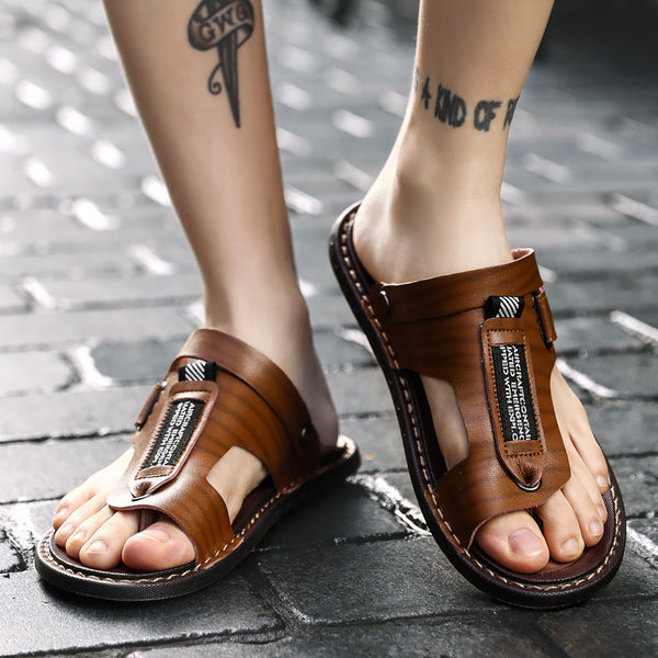 2019 New Summer Outdoor Male Leather Sandals(BUY 2 TO GET 10% OFF)