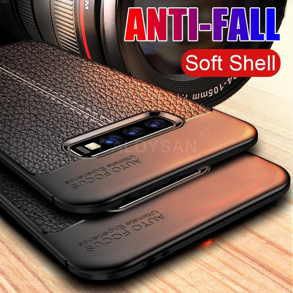 Luxury PU Leather Shockproof Case for Samsung S7 Edge S8 S9 S10 Plus(BUY 2 TO GET 10% OFF)