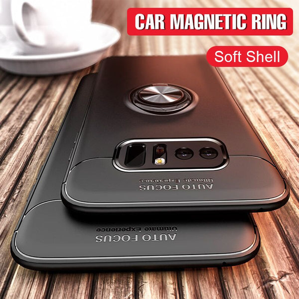 Luxury Magnetic Car Holder Ring Case for Samsung S10/S8/S9 Plus(BUY 2 TO GET 10% OFF)