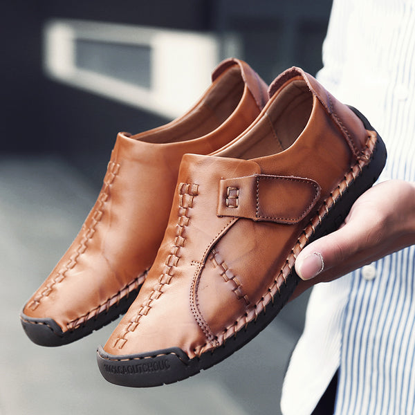 New Genuine Leather Loafers Men Moccasin(BUY 2PCS TO GET 10% OFF)