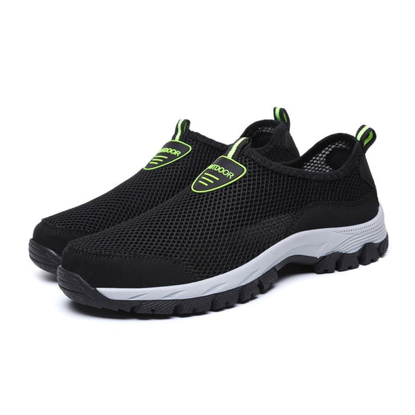 Outdoor Men Lightweight Air Mesh Slip-on Hiking Shoes(BUY 2 TO GET 10% OFF)