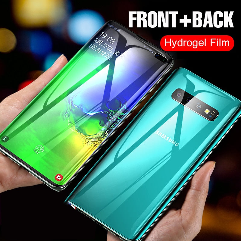 Hydrogel Soft Curved Film For Samsung Galaxy S10/S8/S9 PLus(Not Glass)