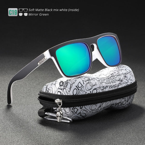 Fashion Guy's Classic All-Fit Mirror Sunglasses With Box(BUY 2 TO GET 10% OFF)