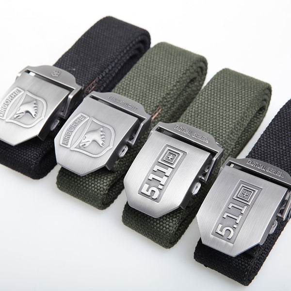 Eagle Head Men Canvas Military Tactical Belt(BUY 2 TO GET 10% OFF)