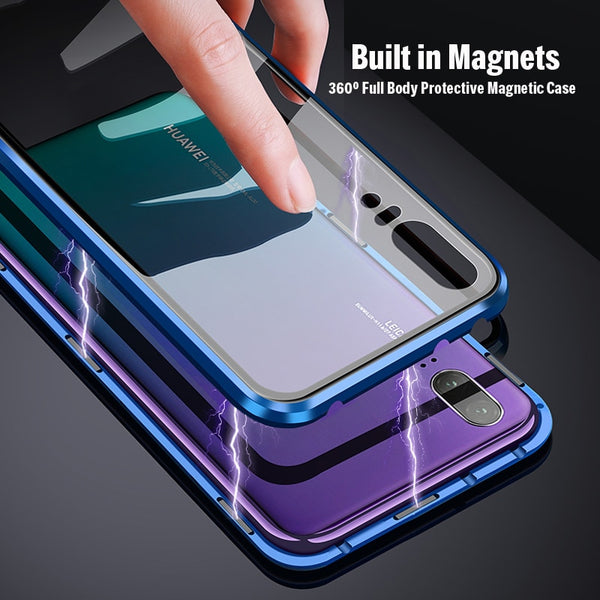 Magnetic Full Body Metal Bumper Case For Huawei P20/P20 Pro(BUY 2 TO GET 10% OFF)