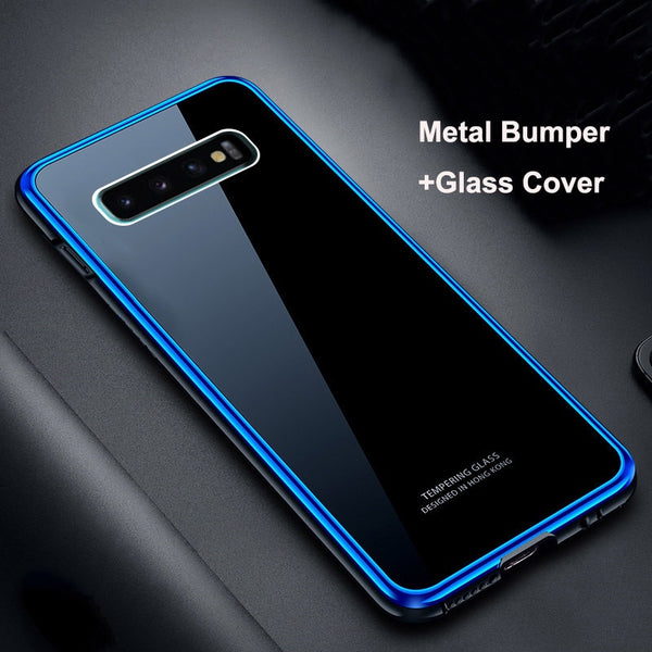 9H Metal Bumper+Plating PC Case For Samsung S10/S10 Plus/S10E(BUY 2 TO GET 10% OFF)