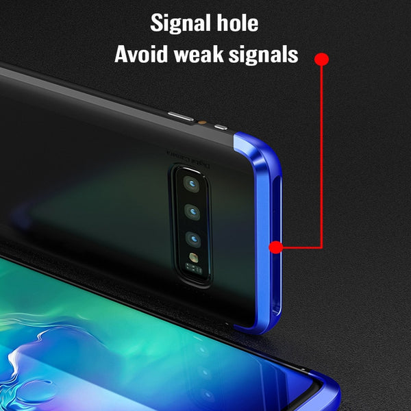 Aluminum Metal Bumper Shockproof Case For Samsung S10/ S10+(BUY 2PCS TO GET 10% OFF)