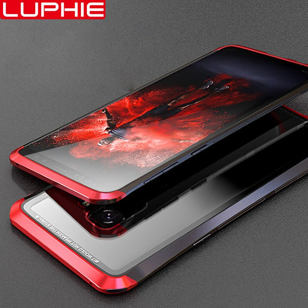Luxury Metal Tempered Glass Case For Samsung S9/s9 Plus(BUY 2PCS TO GET 10% OFF)