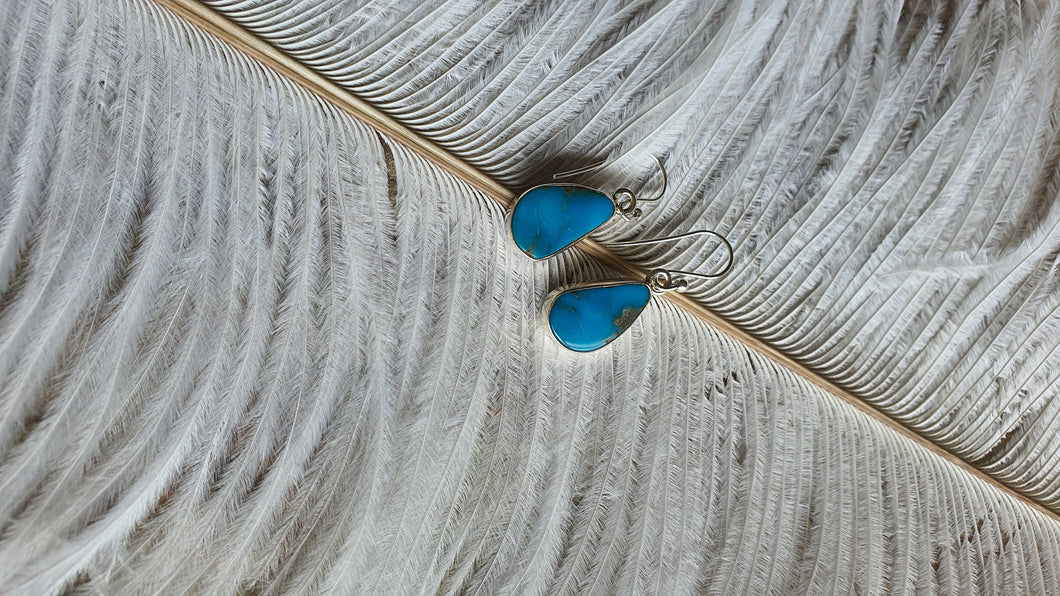 Blue Stone Earrings