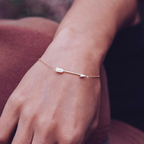 Gold Cupid Bracelet