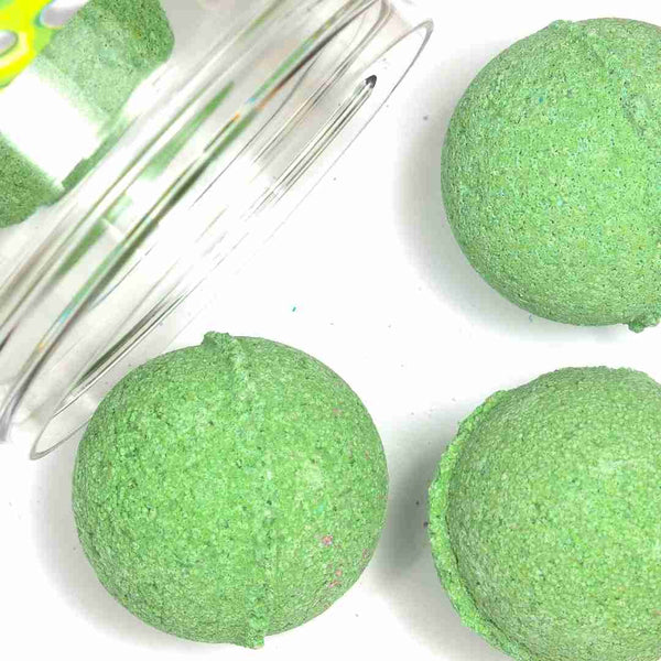 Coconut + Lime Mini Bath Bombs