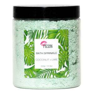 Coconut + Lime Bath Sprinkle