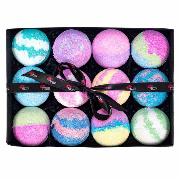 Twelve Bath Bombs