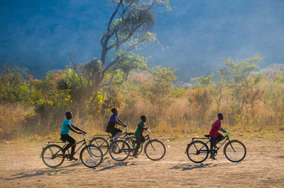 Story Bikes Funds a School in Zimbabwe