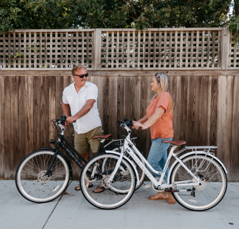 The benefits of Ebikes for Seniors