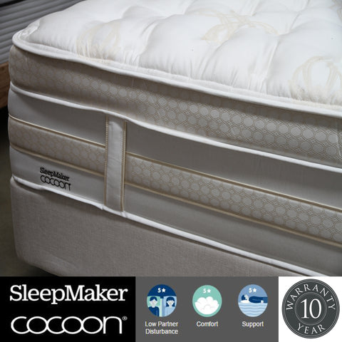Sleepmaker Cocoon Khalesi Mattress - Queen at HomeSoul Bedroom for only$3999.00