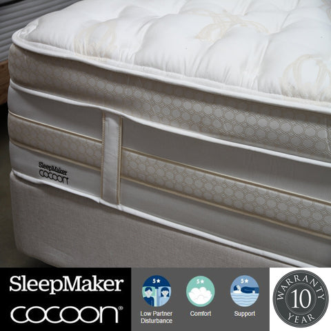 Sleepmaker Cocoon Khalesi Mattress - King at HomeSoul Bedroom for only$4999.00