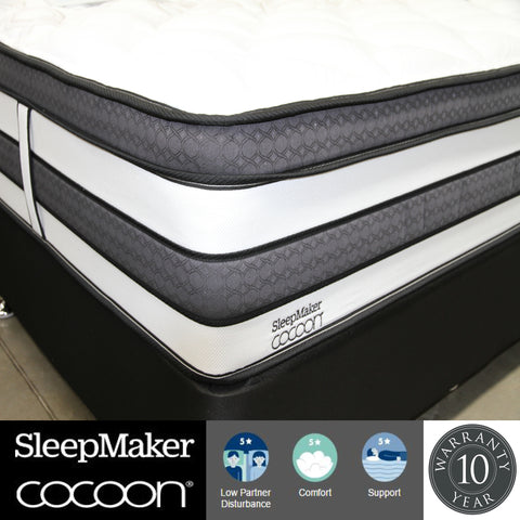 Sleepmaker Cocoon Bolton Mattress - Queen at HomeSoul Bedroom for only$1799.00