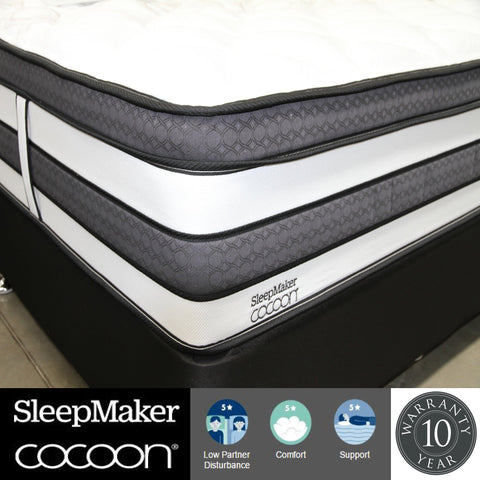 Sleepmaker Cocoon Bolton Mattress - Super King at HomeSoul Bedroom for only$2599.00