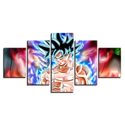 Canvas 5 pieces Dragon Ball San Goku Final preparation
