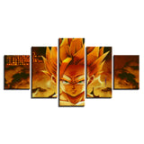 Canvas 5 pieces Dragon Ball Mythic San Gohan super saiyan