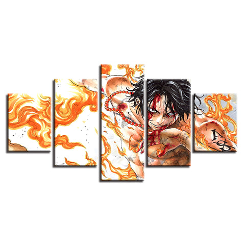 Canvas 5 pieces One Piece ASCE