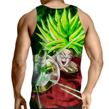 Tank Top Dragon Ball Broly millenary warrior