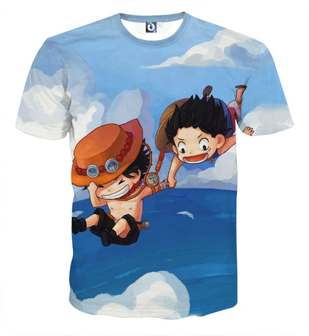 T-shirt One Piece Childhood brother