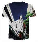 T-shirt One Punch Man Saitama Peace